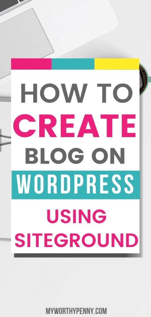 If you haven't started a blog yet, here is you step by step guide on how to create a WordPress blog.