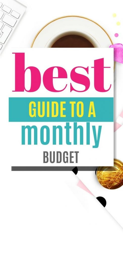 Want to learn the simplest way to create a monthly budget? Here is a step nu step guide on how to make a monthly budget.