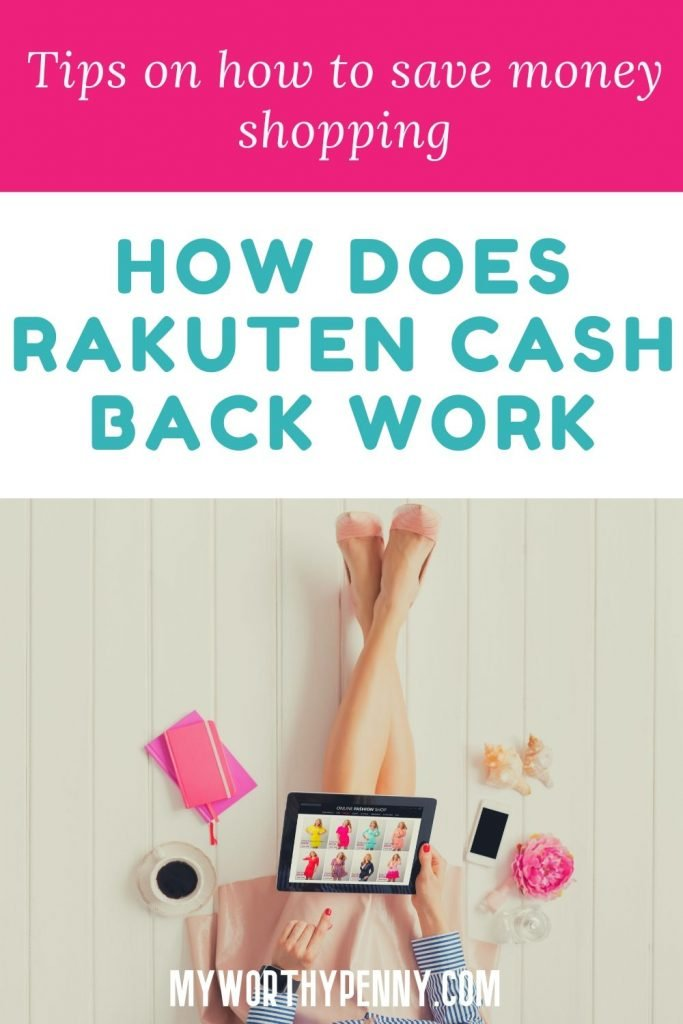 Steps on how to get cash back from Rakuten