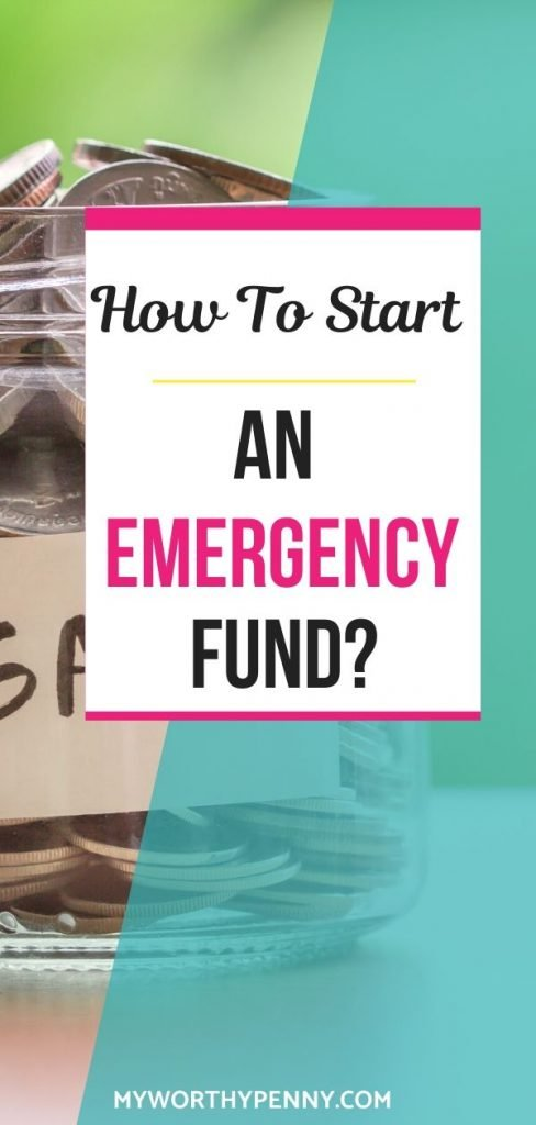 If you've been wondering how to start an emergency fund, this post is for you.