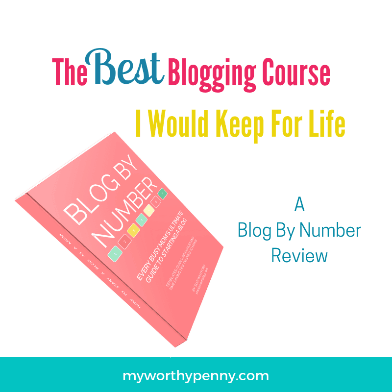 Start your profitable blog this year with the Blog by Number course.