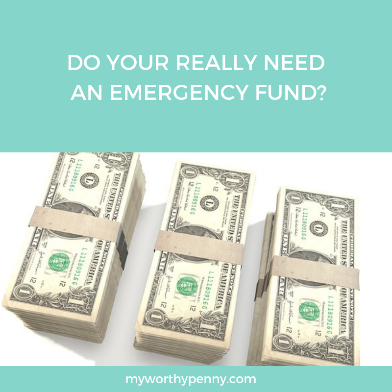 Find out if you really need an emergency fund.