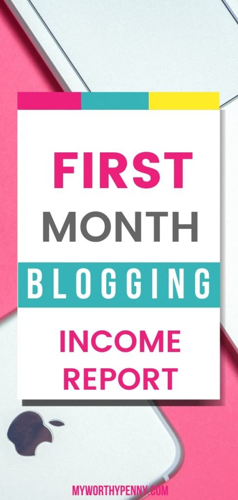 How is your first month blogging? In this post, I will share my first month blog income report. Click through to find out how I did.
