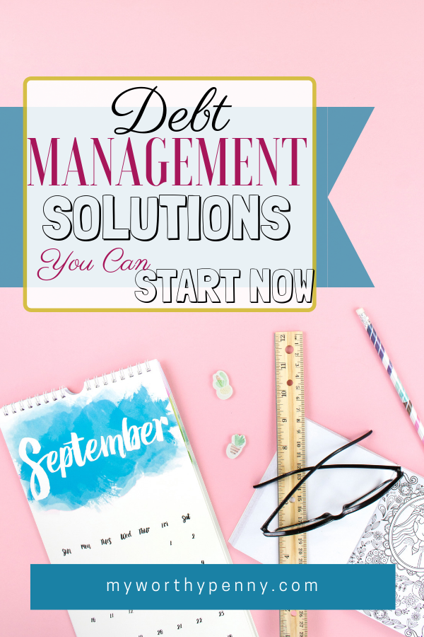 Are you ready to tackle your debt? Learn some debt management solutions that you can start now.