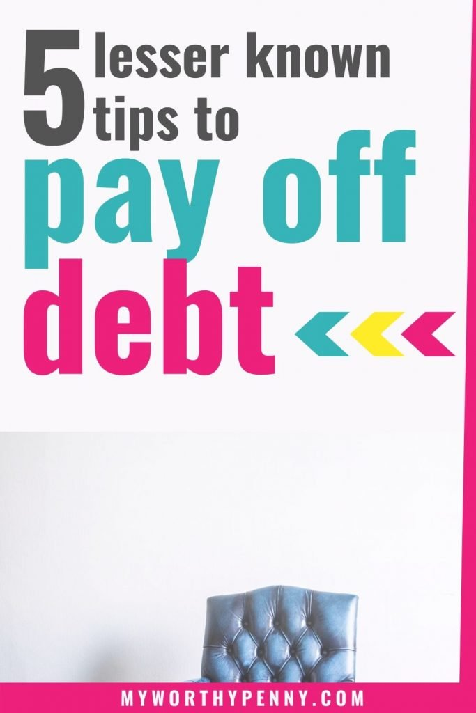 Here are 5 of the best debt pay off tips you should learn and act on.