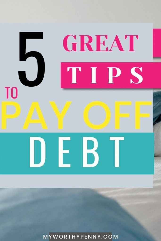 There are five best debt payoff tips that you can incorporate in your debt payoff journey. One of these best debt payoff tips that you can start now is...
