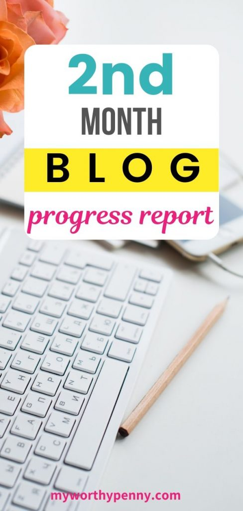 Here is how I did on My 2nd Month Blog Income Report.