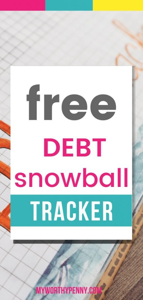 If you are a fan of the debt snowball method, here is a free debt snowball printable worksheet for you.