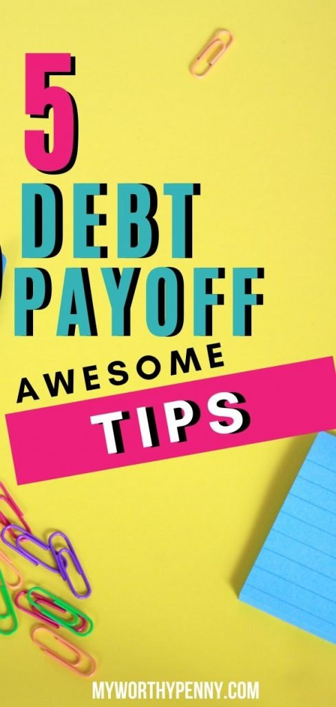 Achieve your debt payoff goals with these debt payoff tips.