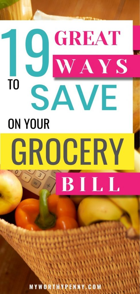 If you want to reduce your grocery bill, here are some of the best tips that you can do now.