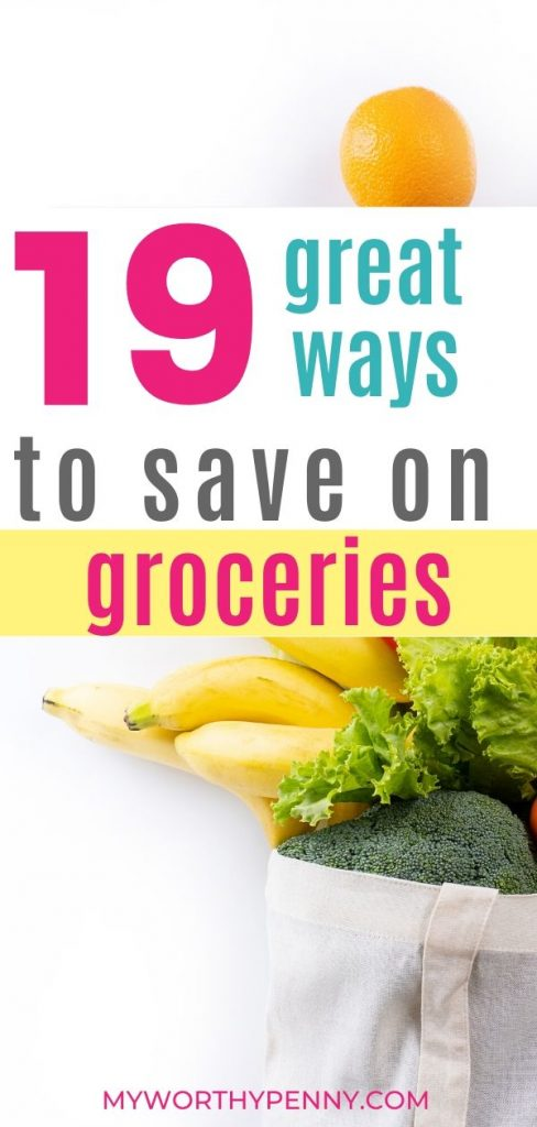Looking to reduce your grocery bill? Here are 19 ways to save on your grocery bill that are easy to do.