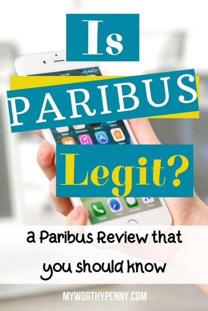 IS PARIBUS LEGIT? A PARIBUS APP REVIEW THAT YOU SHOULD KNOW-Is Paribus A Scam?-Paribus App-Paribus Review