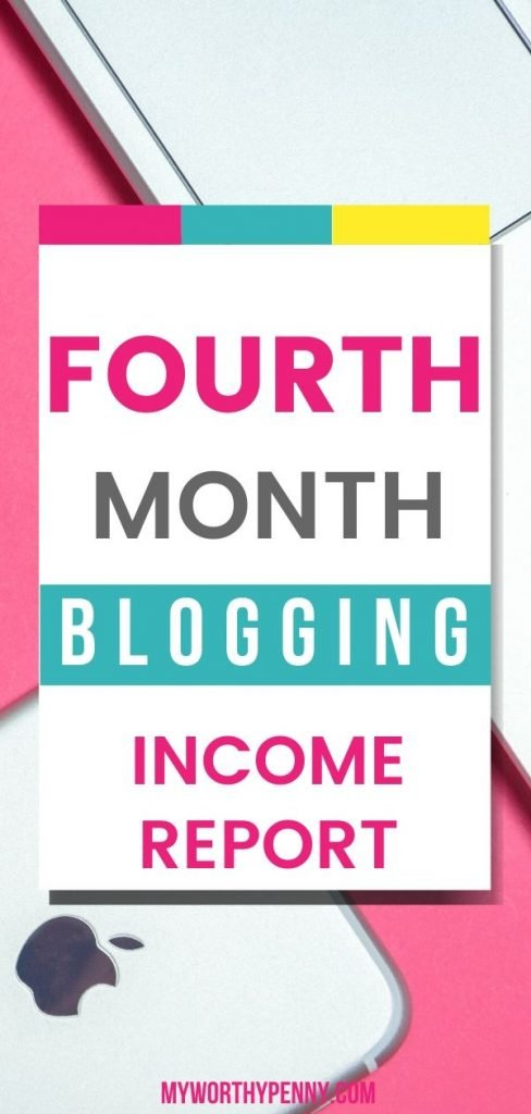 Here is an update on my fourth month of blogging.