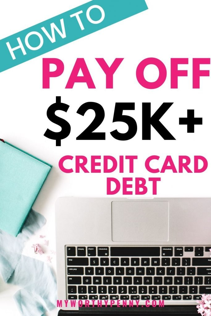 Here are some of the best tips on how to pay off over $25K in credit card debt.