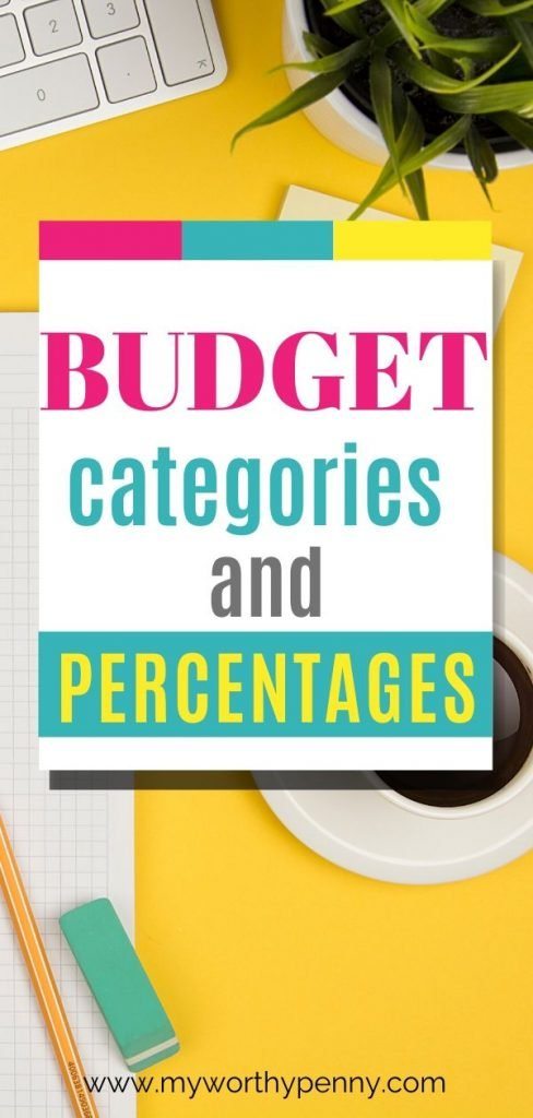 In order to have a good budget, you need budget categories and budget percentages, here are some tips.