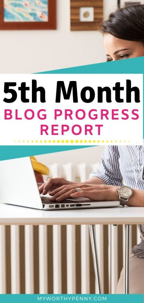 Check out how I almost quit on my fifth month of blogging and what made me push on.