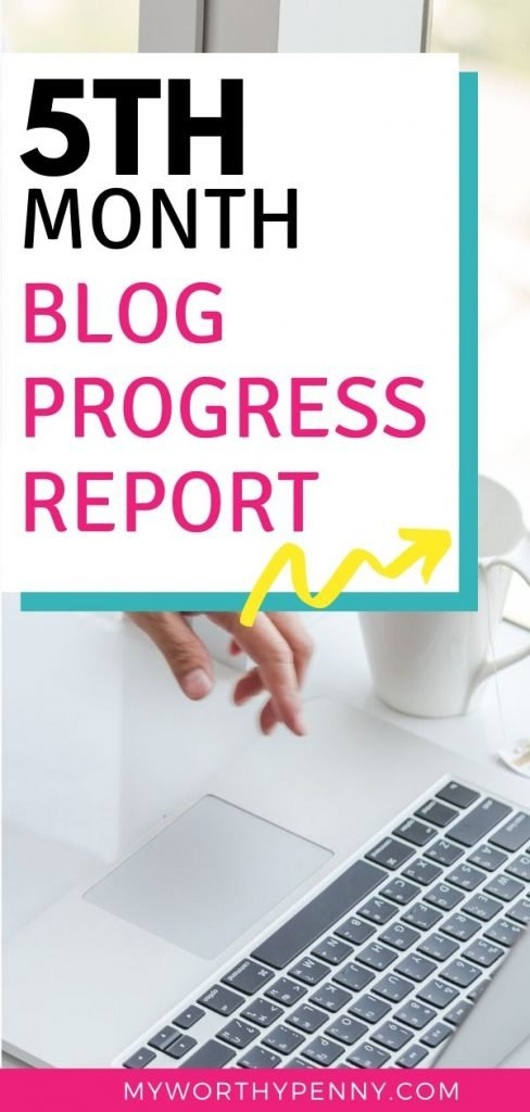 Fifth Month of Blogging Progress Report
