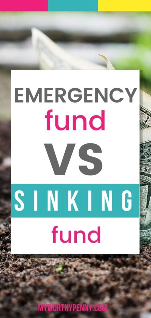 Confused about emergence fund and sinking funds? Check out these tips.