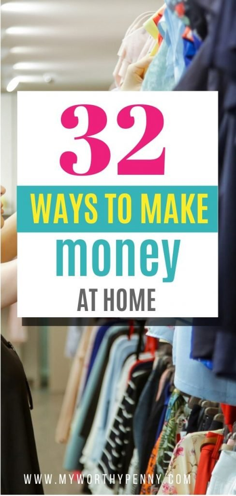 If you want to increase your side hustle income, here are 32 legitimate ways to make money at home.