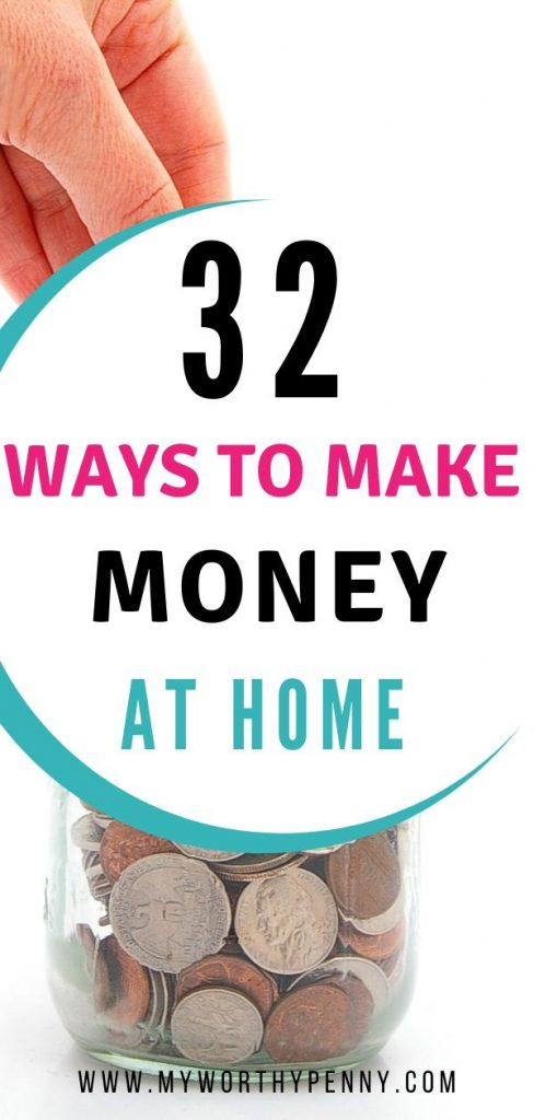 If you are looking to supplement your income, here are the top 32 legitimate ways to make money at home.