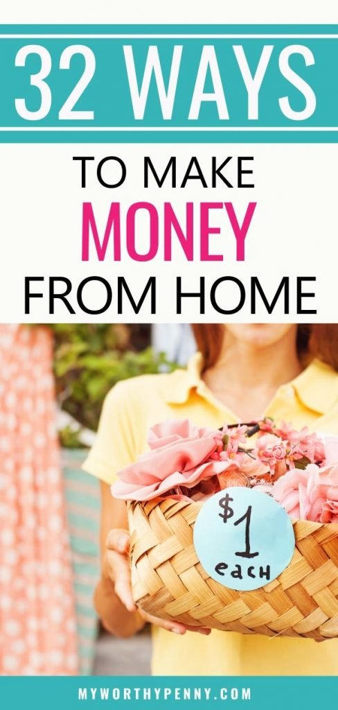 Want to earn some extra money? Hera are the top 32 legitimate ways to make money at home.