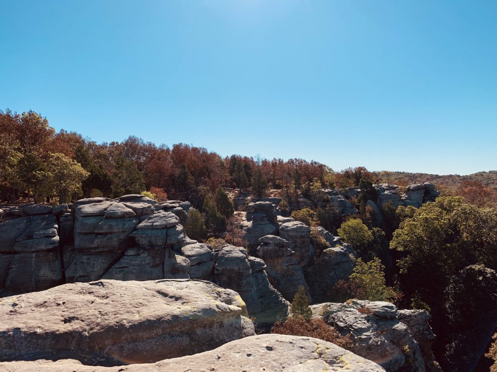 Garden Of The Gods-Shawnee National Forest-By My Worthy Penny