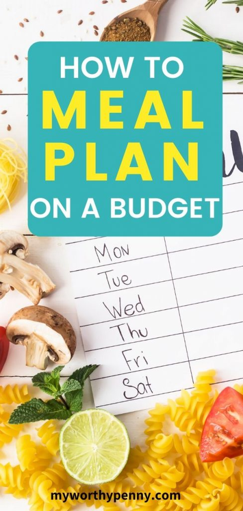 Here is how you can get started with how to meal plan on a budget. With this guide, you  will be able to develop a healthy monthly meal plan on a budget. You will also get a FREE weekly meal planner.