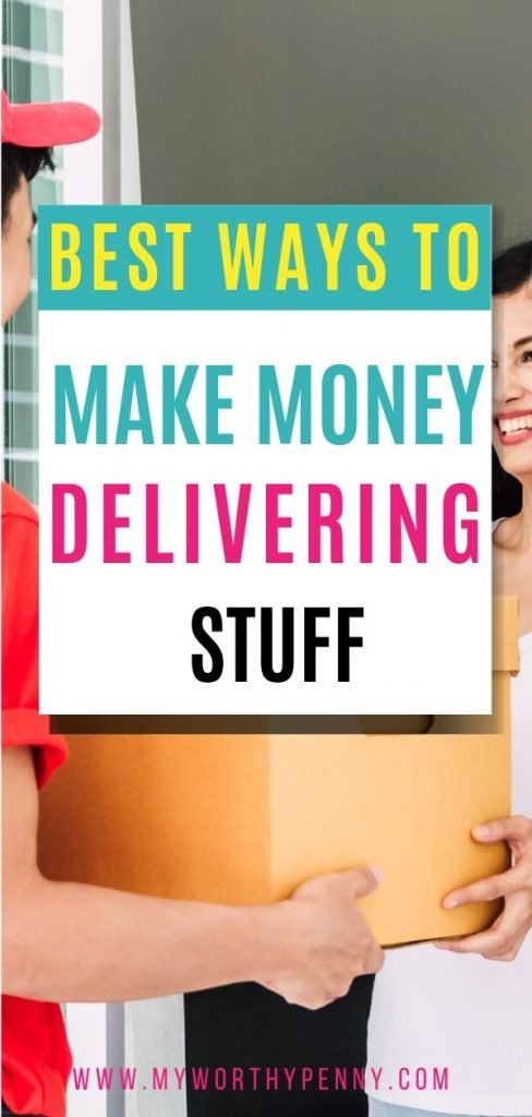 Here are some of the best ways to make money deliver stuff. Best apps to make money using your own car. Make money using your own car. Make money delivering by using your car.