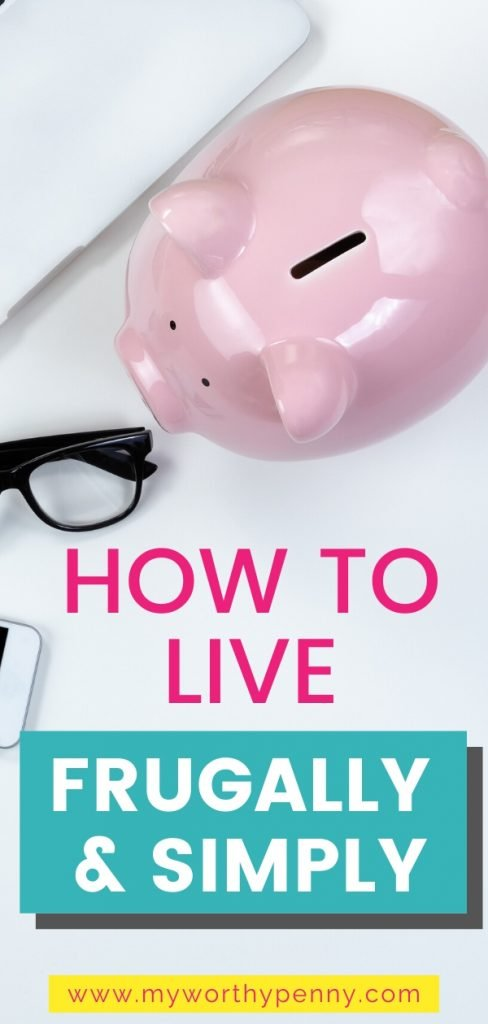 If you've been wanting to start living frugally and simply, here are some tips that you can do.