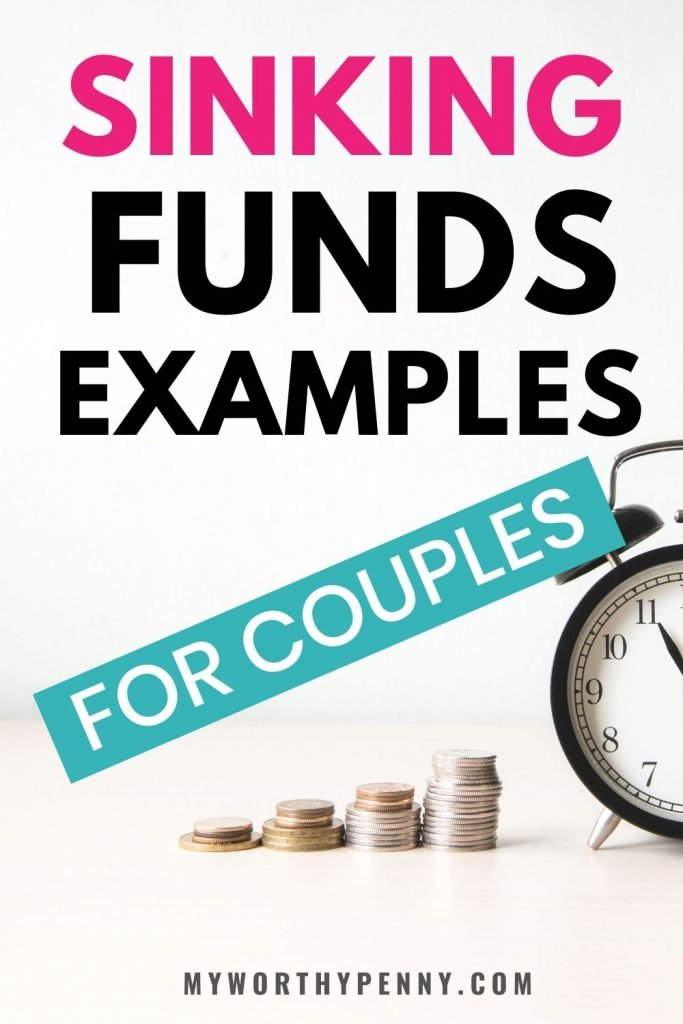 If you are wondering what sinking funds you can add on your budget, here are some of the best sinking funds examples.