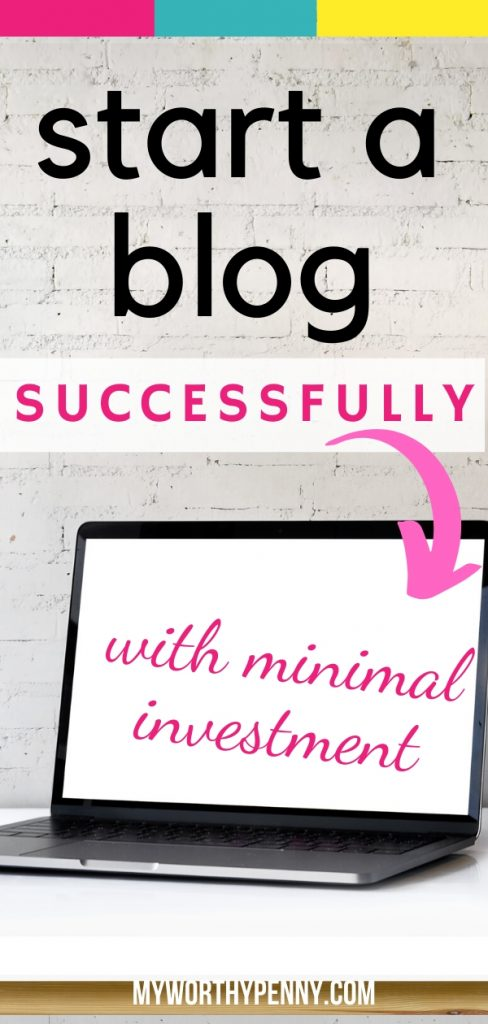 Great tips on how to successfully start a blog when you are on a budget.