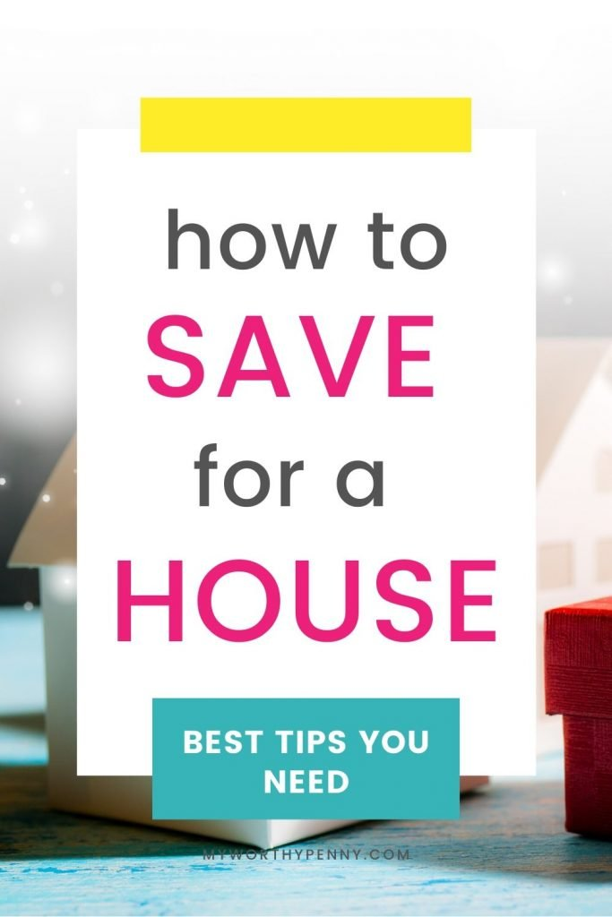 Here are tips on how to save money to buy a house.