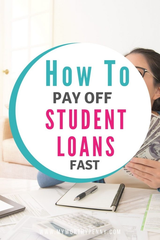 Tips on how to pay off student loans fast