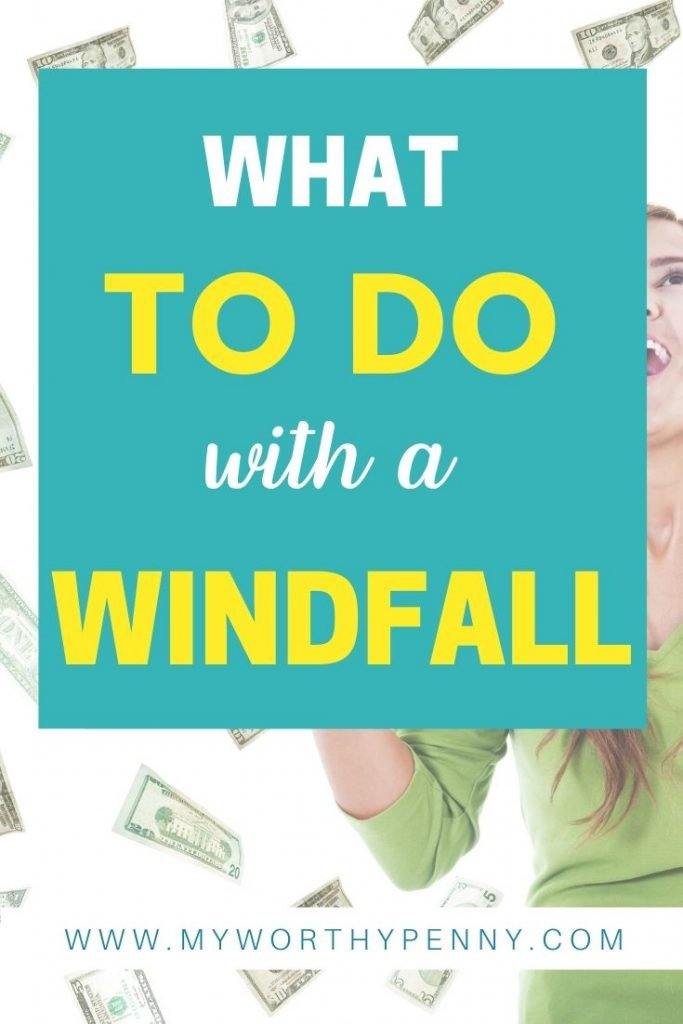 Discover the smart and wise ways on how to deal with an unexpected windfall.