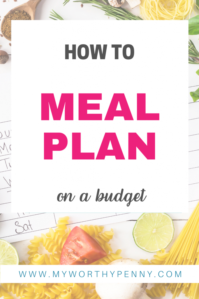 Meal planning tips for beginners.