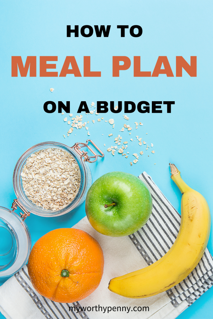 How to meal plan on a budget? Budget meal planning can be confusing but if you follow these meal planning ideas ot use a meal planning printable, you will be on your way to a successful meal planning on a budget. Meal planning for beginners. How to meal plan for beginners. How to meal plan for the week. #mealplanning #howtomealplan