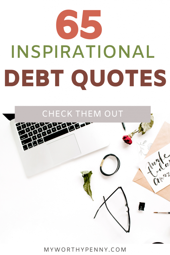 Motivational Debt Quotes to help you get out of debt