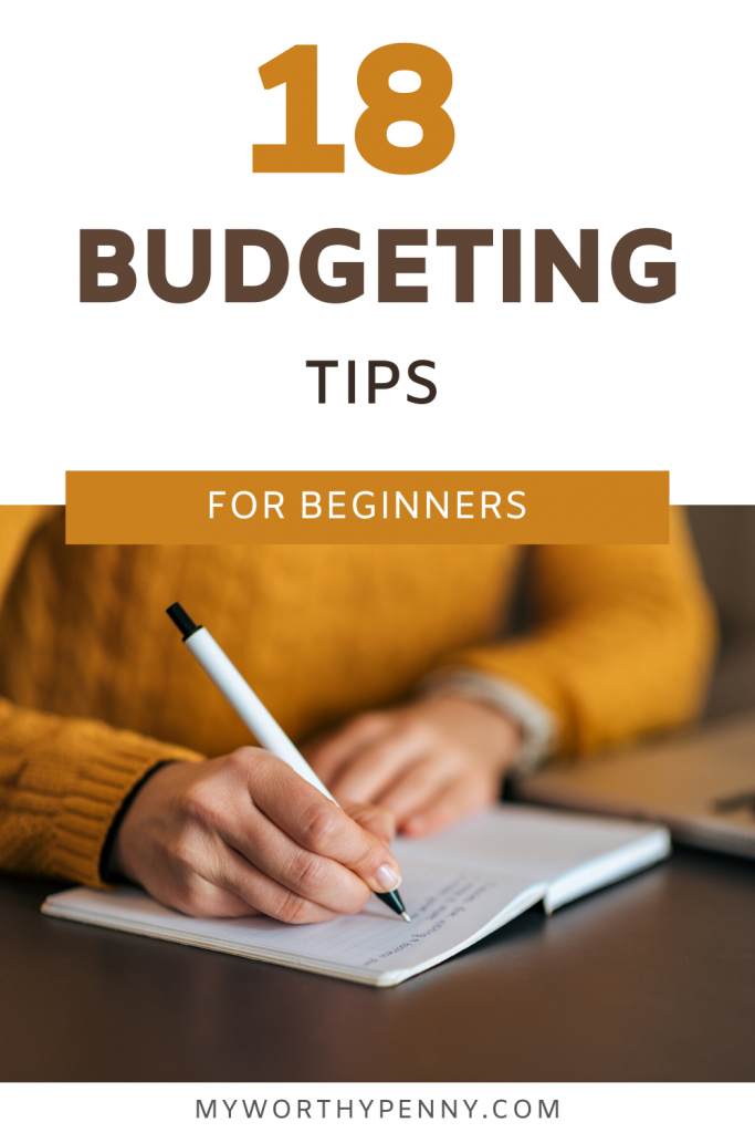 Personal budgeting tips for beginners that you can do to succeed in your budgeting journey.