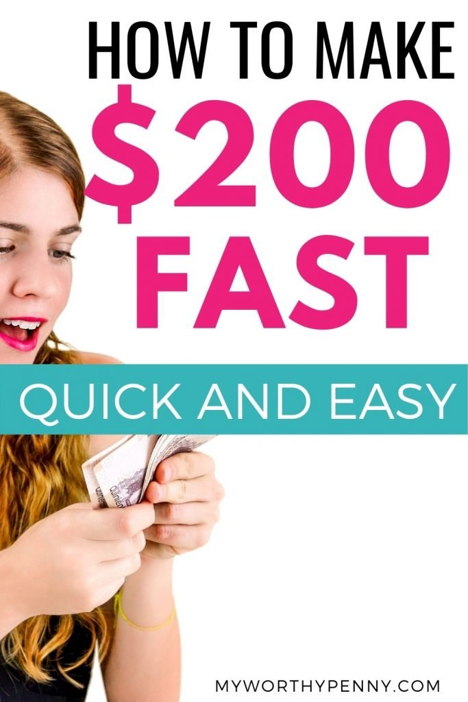 Looking for ways to make 200 dollars fast? Here are the best ways on how to make $200 fast that are easy to do. Check it out.