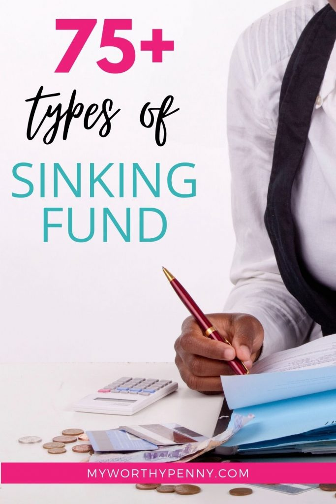 Most Useful Types of Sinking Fund (75+ You Must Have in Your Budget)
