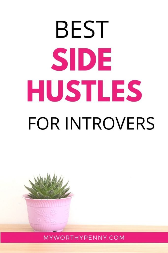 Just because you're an introvert doesn't mean you have to shy away from money-making opportunities! That's why I've compiled a list of the best side hustles for introverts.