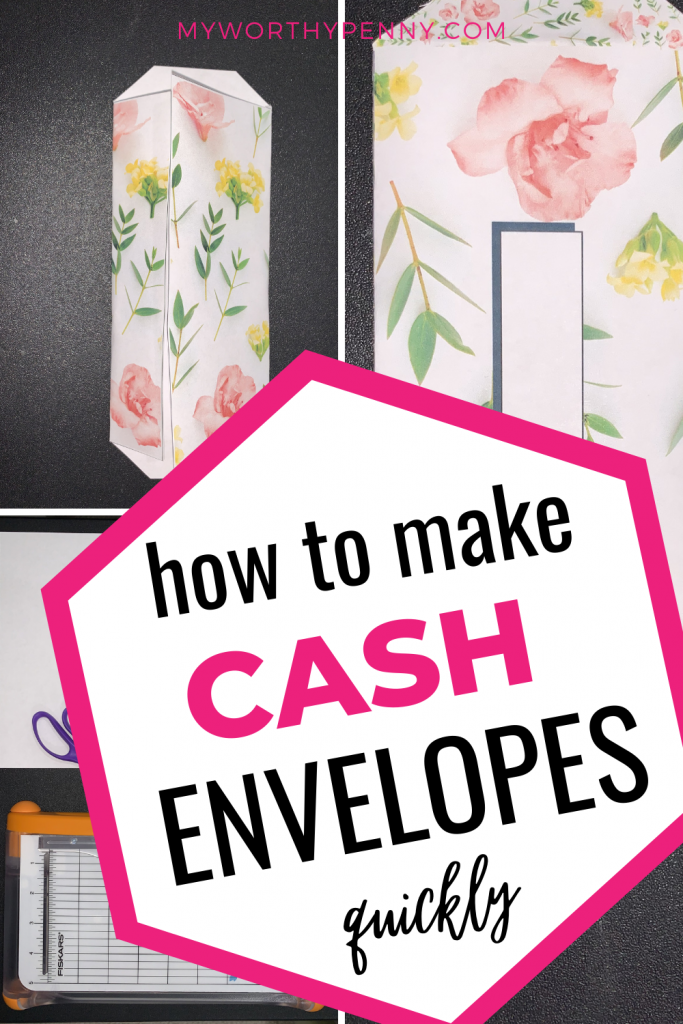 looking on how to make cash envelopes? Here is a step by step guide on how to DIY your cash envelopes.