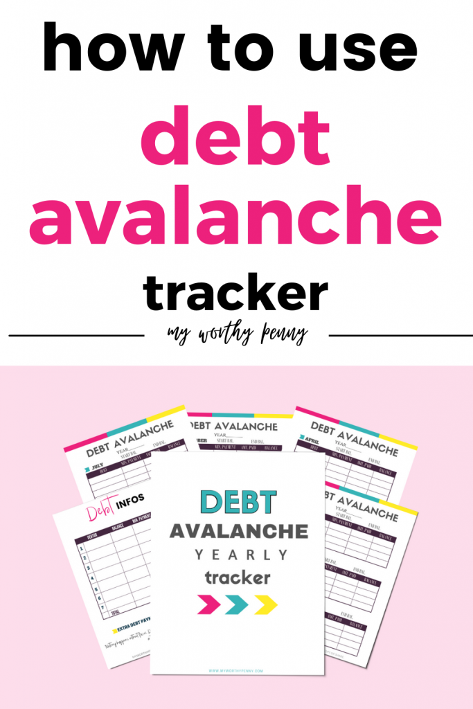 If you are looking to pay off your debt quicker, use the debt avalanche method. The debt avalanche tracker will help you track your progress and motivate you. The debt avalanche worksheet is also simple and easy to use.