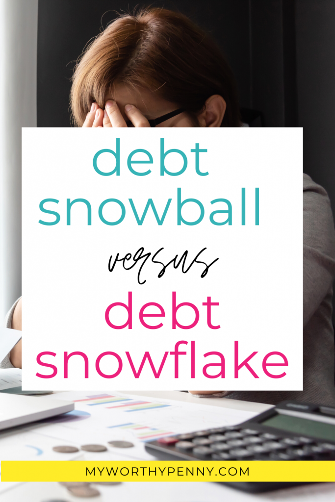 Debt snowball vs debt snowflake? Discover which method will help you get out of debt faster. Check it out.