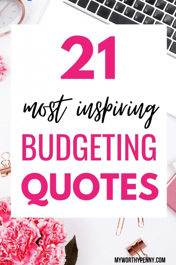 In this post, you will learn the best inspirational budgeting quotes to improve personal finance as inspired by Dave Ramsey to help you get the motivation you need to improve your finances. These tips and truths are perfect for saving money and inspirational as well. Get the best quotes at myworthypenny.com.